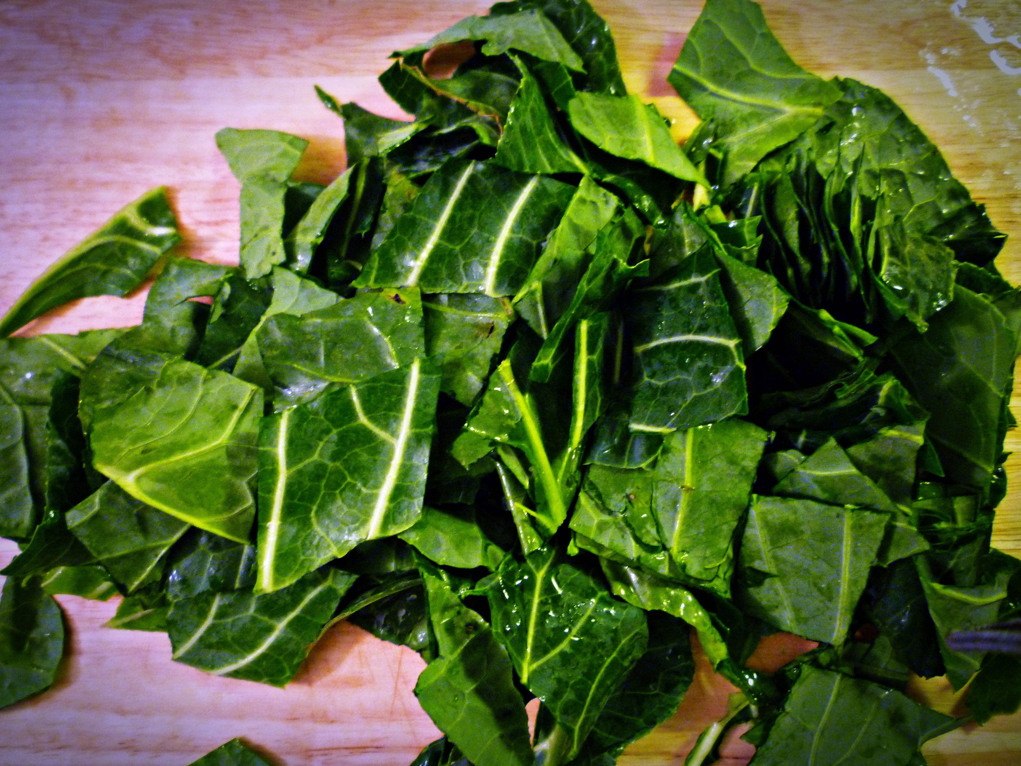 Savory Collard Greens » A Full Measure of Happiness