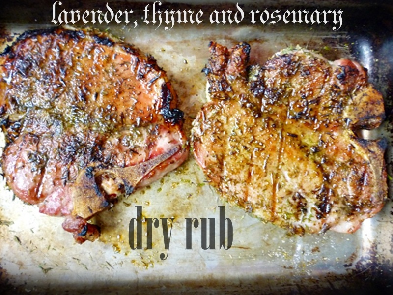 rubbed pork chops with pesto stuffed oven baked pork 6 pork chops each ...